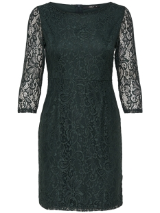 Only Jurk onlSANTA CRUZ MID DRESS WVN 15166331 Green Gables