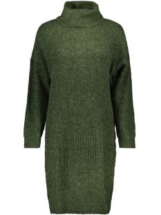 onlvega l/s rollneck dress knt 15160724 only jurk hunter green