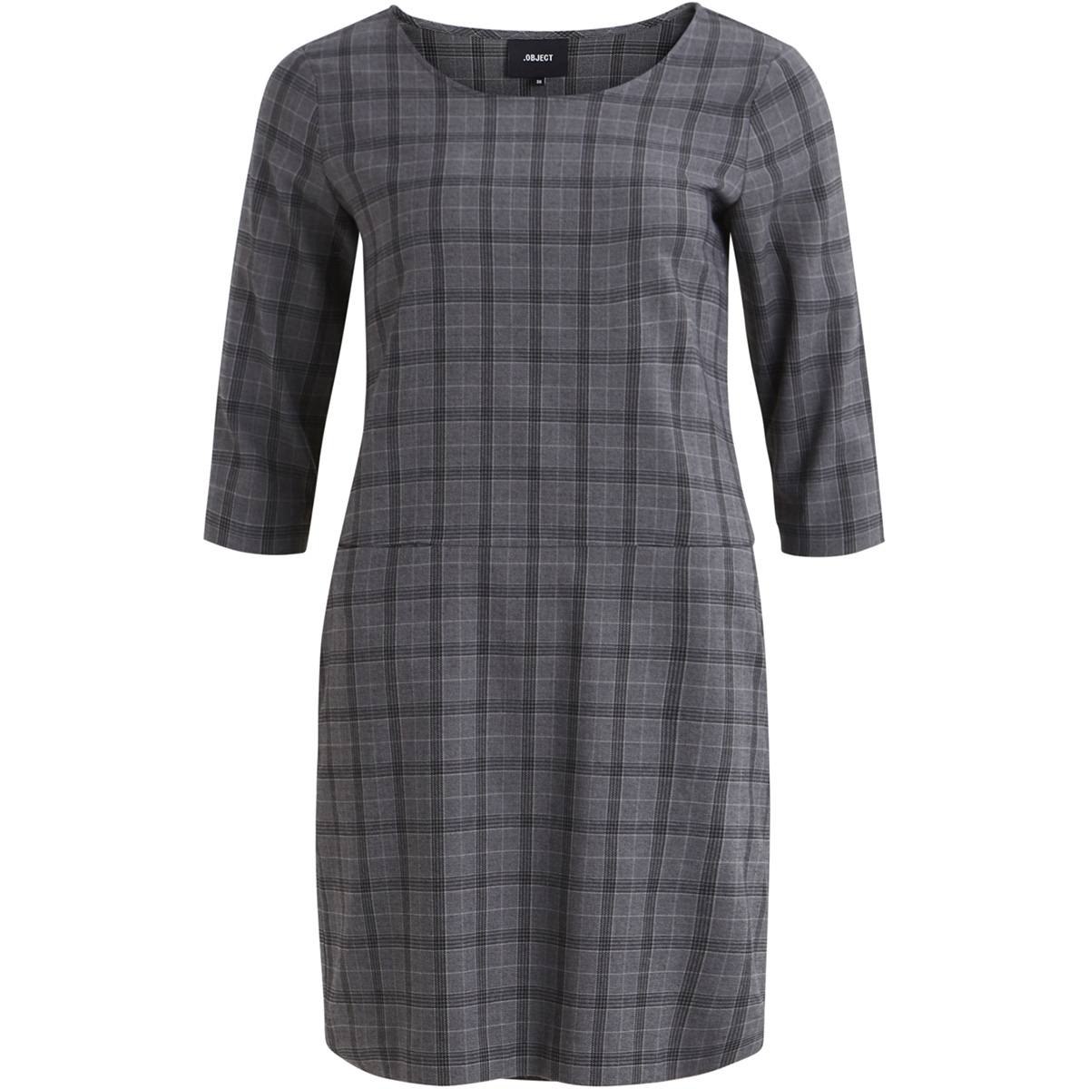 objredhot maxine bell dress a rt 23029150 object jurk medium grey