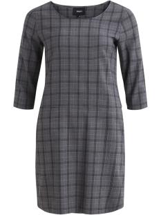 Object Jurk OBJREDHOT MAXINE BELL DRESS A RT 23029150 Medium Grey