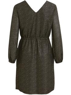 objhollie l/s dress a wi 23029434 object jurk black/gold foil