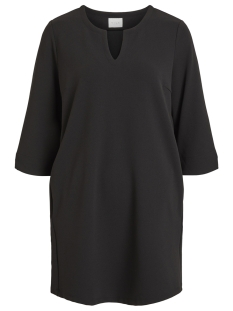 Vila Jurk VISALLI 3/4 SLEEVE DRESS/1 14052836 Black