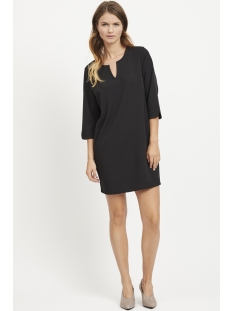 visalli 3/4 sleeve dress/1 14052836 vila jurk black