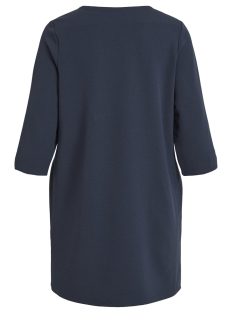 visalli 3/4 sleeve dress/1 14052836 vila jurk total eclipse