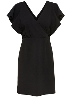Only Jurk onlCAROLINA S/L DRESS TLR 15168943 Black