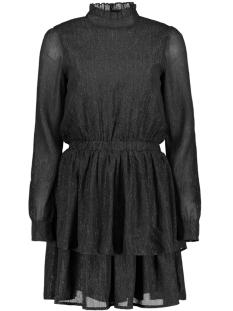 Harper & Yve Jurk FW18X911 LUREX LAYER DRESS 97-ZWART