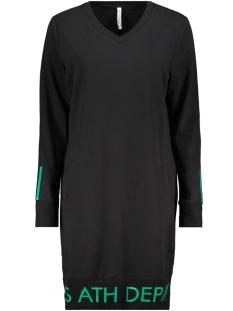 bless 2 zoso jurk black/green
