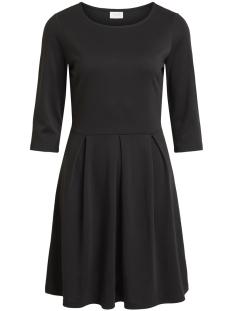 Vila Jurk VITINNY  3/4 SLEEVE DOLL DRESS 14050755 Black