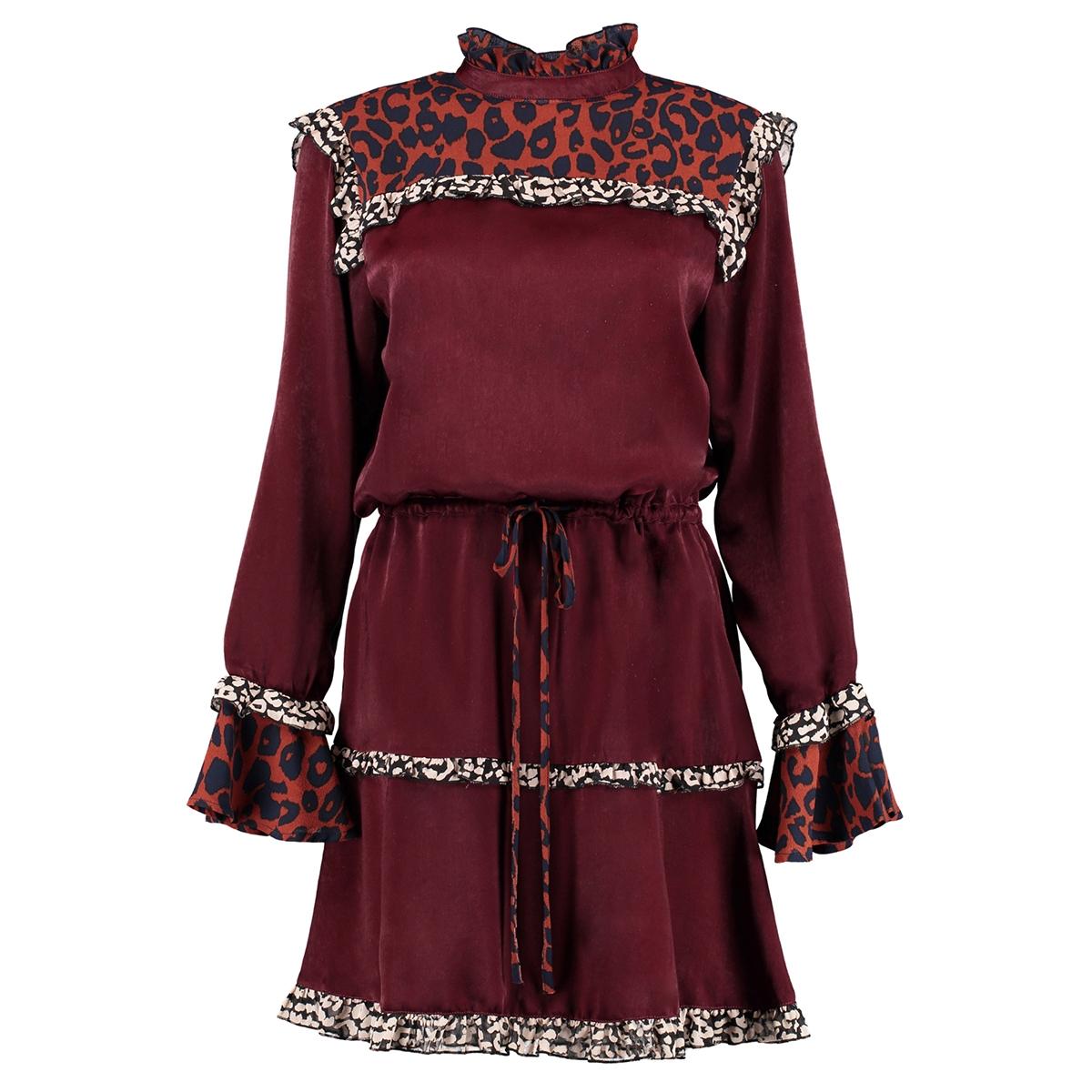fw18x905 harper & yve jurk bordeaux