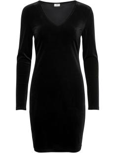 Jacqueline de Yong Jurk JDYGORGEOUS L/S V-NECK DRESS JRS EX 15170535 Black