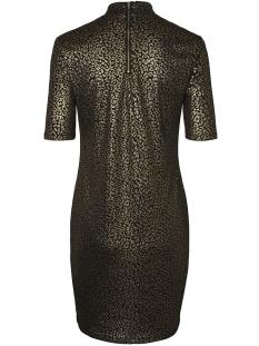 nmmaddy 2/4 short dress x 27002239 noisy may jurk black/leopard