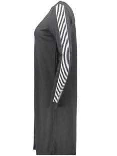 nmlira l/s long dress 1 27005841 noisy may jurk obsidian/white/black