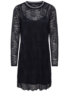Only Jurk onlGWENN 3/4 DRESS NL JRS 15180711 Black/RIB BLACK