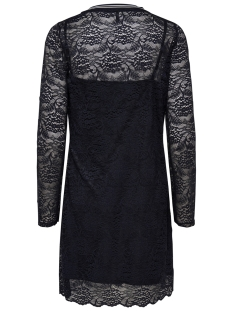 onlgwenn 3/4 dress nl jrs 15180711 only jurk black/rib black