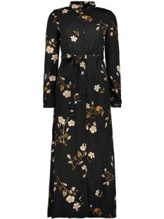 Vero Moda Jurk VMCALLIE L/S MAXI SHIRT DRESS EXP 10216676 Black/CALLIE