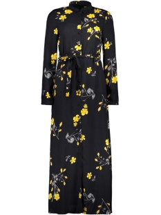 Vero Moda Jurk VMCALLIE L/S MAXI SHIRT DRESS EXP 10216676 Night Sky/CALLIE