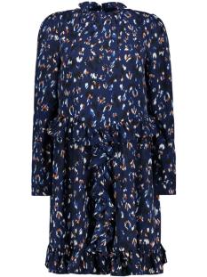 Vero Moda Jurk VMSABBY ZIGGA L/S SHORT DRESS FD18 10214938 Blueprint/SABBY