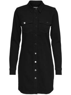 Jacqueline de Yong Jurk JDYNEW JUICY DENIM DRESS BLACK DNM 15168019 Black