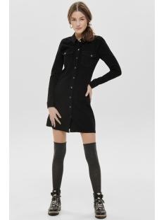 jdynew juicy denim dress black dnm 15168019 jacqueline de yong jurk black