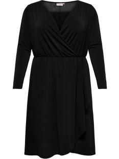 carcarolei ls knee dress 15171295 only carmakoma jurk black