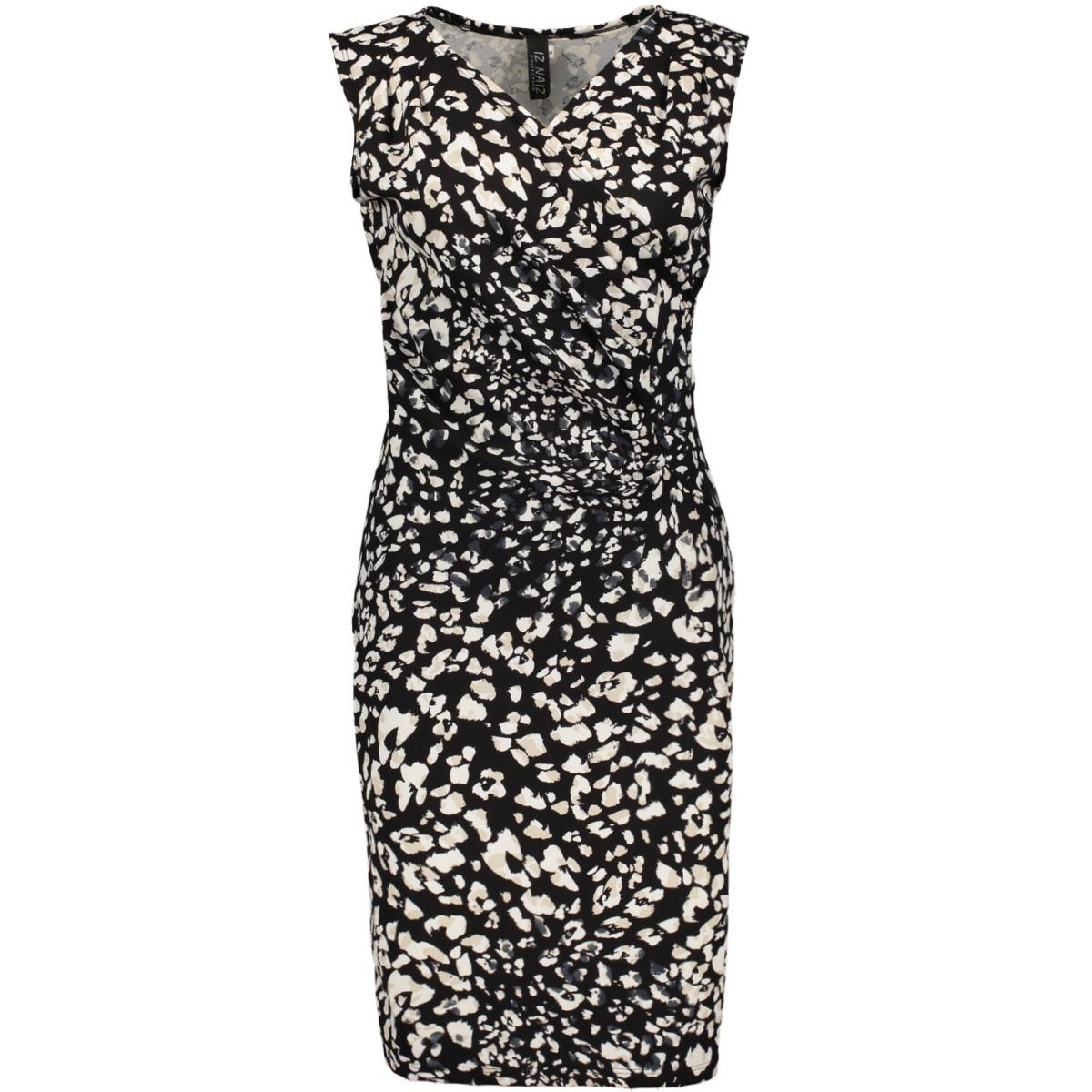 3392 s/l dress iz naiz jurk flower