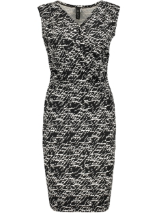 IZ NAIZ Jurk 3392 S/L DRESS ZIGZAG