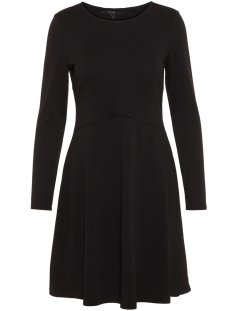 Vero Moda Jurk VMPINTA LS ABK DRESS LOCAL 10211433 Black