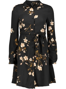 Vero Moda Jurk VMCALLIE L/S SHORT SHIRT DRESS EXP 10216677 Black/CALLIE