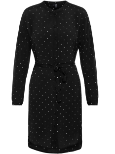 Vero Moda Jurk VMZILIA L/S ABK DRESS EXP 10214744 Black/DELORES DOT