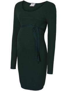 Mama-Licious Positie jurk MLLOLAN L/S KNIT ABK DRESS V. 20009255 Eden
