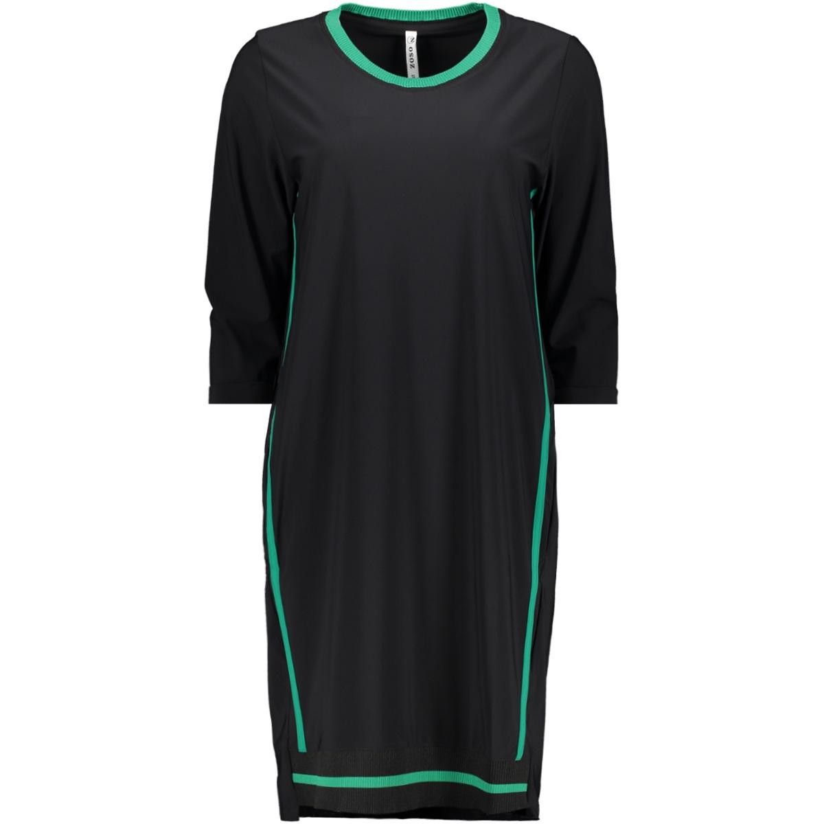 odette travel tunic zoso tuniek black/green