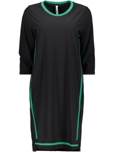 Zoso Tuniek ODETTE TRAVEL TUNIC BLACK/GREEN