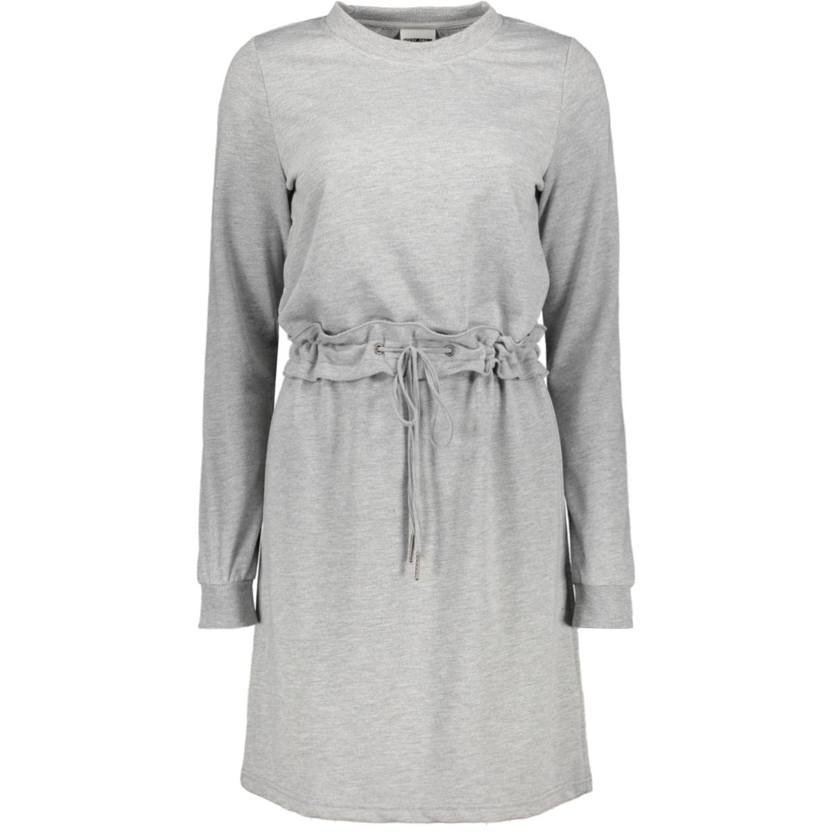 nmmonty l/s sweat dress x3 27007283 noisy may jurk light grey melange