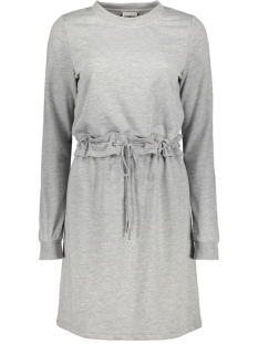 Noisy may Jurk NMMONTY L/S SWEAT DRESS X3 27007283 Light Grey Melange