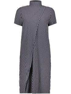 Noisy may Jurk NMALANA S/S STRIPE DRESS SSX7 27005162 Night Sky/NIGHT SKY