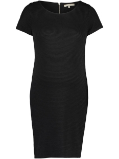 90230 dress ss zinnia noppies positie jurk black