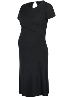 SuperMom Positie jurk S0918 DRESS SS NURS BLACK