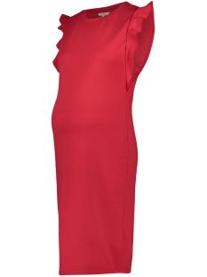 Noppies Positie jurk 90231 DRESS SS OLYMPIA CRIMSON