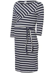 Mama-Licious Positie jurk MLSELINA 3/4 JERSEY ABK DRESS A. 20009571 Navy Blazer/Y/D NAVY B