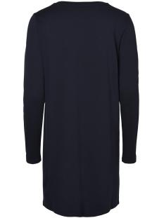 vmtonja ls short dress 10210415 vero moda jurk night sky/w/silver b
