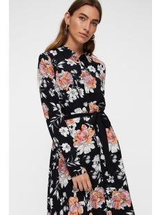 vmmaise short shirt dress fd18 10214872 vero moda jurk black/maise