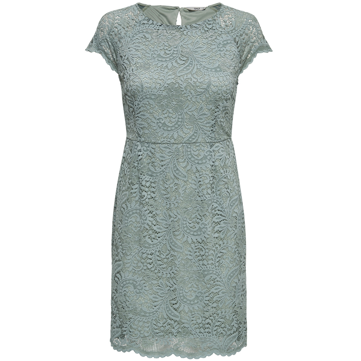 onlshira lace dress noos wvn 15146565 only jurk chinois green
