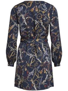 vizula l/s dress /rx 14054318 vila jurk navy blazer/chain prin