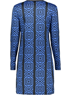 dress jogg. 3566 iz naiz jurk black/cobalt