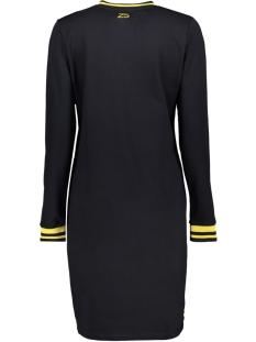 sweat dress sr1904 zoso jurk navy/yellow