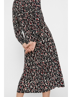 vmgreen ankle shirt dress vma 10210356 vero moda jurk black/anni