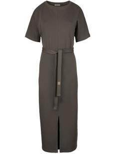 03LJ19vAgg hippe lange jurk AGG Grijs-Groen