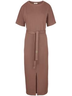 03LJ19V hippe lange jurk Dbr Brique