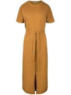 03LJ19V hippe lange jurk Bmo Mosterd