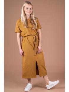 03lj19v hippe lange jurk zusss jurk bmo mosterd